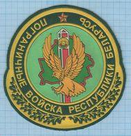 BELARUS / Patch Abzeichen Parche Ecusson / Border Troops. Eagle . - Blazoenen (textiel)