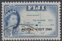 Fiji SG 327 1963 Royal Visit, Used - Fiji (...-1970)