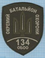 Ukraine / Patch, Abzeichen, Parche, Ecusson / Army .134 Separate Guard Battalion. Antiterrorist Operation. - Police & Gendarmerie