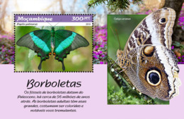 Mozambique  2019  Fauna  Butterflies   S201902 - Mozambique