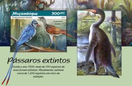 Mozambique  2019  Fauna Extinct Birds   S201902 - Mozambique