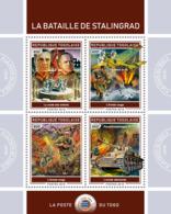 Togo  2018  Battle Of Stalingrad , World War II   ,Georgy Zhukov S201902 - Togo (1960-...)