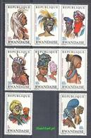 Rwanda 1969 Mi 327-334 MNH ( ZS4 RWN327-334dav105 ) - Cultures