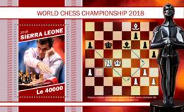 Sierra Leone   2018  World Chess Championship 2018  S201902 - Sierra Leone (1961-...)