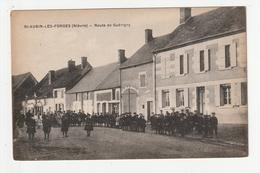 SAINT AUBIN LES FORGES - ROUTE DE GUERIGNY - 58 - Frankreich