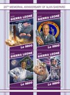 Sierra Leone   2018   Alan Shepard , Space ,astronaut  S201902 - Sierra Leone (1961-...)