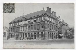 AMIENS EN 1906 - HOTEL DES POSTES ET TELEGRAPHES - CPA  VOYAGEE - Amiens