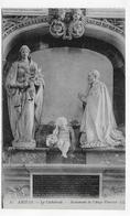 AMIENS - N° 21 - LA CATHEDRALE - MONUMENT DE L' ANGE PLEUREUR - CPA NON VOYAGEE - Amiens