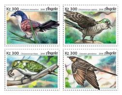 Angola  2018   Fauna Cuckoos  Birds   S201902 - Angola