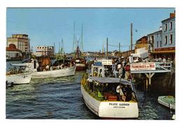 85 Les Sables D'Olonne N°114 L'Embarcadère Et Le Port Bateau PILOTE GARNIER Promenades En Mer SILO Cavblé - Sables D'Olonne