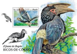 Angola  2018   Fauna Hornbills  Birds   S201902 - Angola