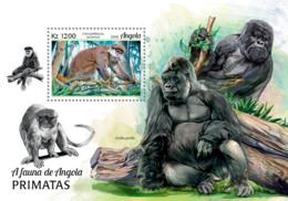 Angola  2018   Fauna  Primates  Monkeys  Gorillas  S201902 - Angola