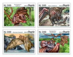 Angola  2018   Fauna Bats   S201902 - Angola