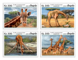 Angola  2018   Fauna   Angolan Giraffe   S201902 - Angola