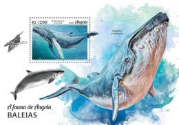 Angola  2018   Fauna  Whales  S201902 - Angola