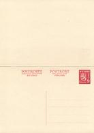 FINLAND / SUOMI - 1947 , Postkort Med Betalt Svar - Enteros Postales