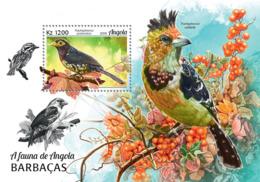 Angola  2018   Fauna   Barbets   Birds   S201902 - Angola