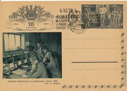 KRAKOW - 1939 , KARTA POCZTOWA , BPK  Telefonzentrale WW 1. - Entiers Postaux