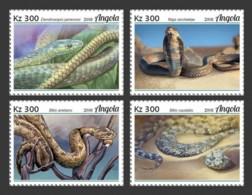 Angola  2018   Fauna   Snakes   S201902 - Angola