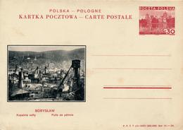 POLEN / POSKA / POLOGNE - 1937 , KARTA POCZTOWA , BPK  BORYSLAW - Entiers Postaux
