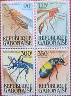 Gabon  1983   4 V  MNH - Insectes