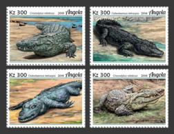 Angola  2018   Fauna   Crocodiles  S201902 - Angola