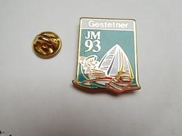 Beau Pin's , JM 93 , Voile , Jeux Méditerranéens De 1993 , Gestetner - Zeilen