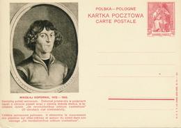 POLEN / POSKA / POLOGNE - 1938 , KARTA POCZTOWA - CARTE POSTALE , BPK  Mikolaj Kopernik - Stamped Stationery