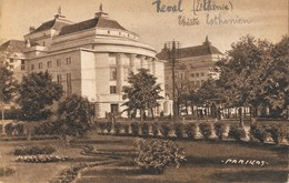REVAL-TALLINN-REVEL ( Estonie )  Thëatre Estonien - Esater Teater Estonïa - Estonie