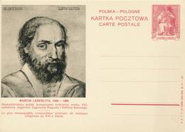POLEN / POSKA / POLOGNE - 1938 , KARTA POCZTOWA - CARTE POSTALE , BPK  Marcin Leopolita - Entiers Postaux