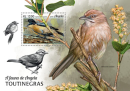 Angola  2018  Fauna Warblers Birds S201902 - Angola