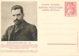 POLEN / POSKA / POLOGNE - 1938 , KARTA POCZTOWA - CARTE POSTALE , BPK  Marian Smoluchkowski - Entiers Postaux
