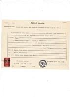 COMUNE DI WIL - CANTONE DI SAN GALLO - SVIZZERA - CERTIFICATO DI MORTE DEL 1963 - COM BOLLI - Documenti Storici