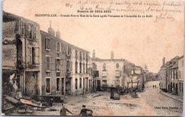 54 BADONVILLER - Grande Rue Et Rue De La Gare - Autres Communes