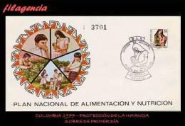 AMERICA. COLOMBIA SPD-FDC. 1977 PLAN NACIONAL DE ALIMENTACIÓN & NUTRICIÓN - Colombie