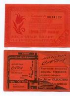 Kazakhstan  1994. March. City Karaganda. Monthly Student Bus Pass. - Season Ticket