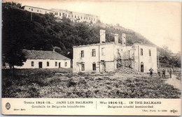 SERBIE - BELGRADE - La Citadelle Bombardée 1914-15 - 1926-39 Charlotte De Profil à Droite