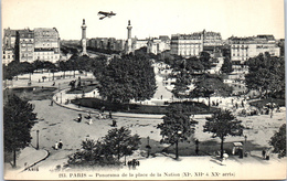 75011 PARIS - Panorama De La Place De La Nation - Arrondissement: 11