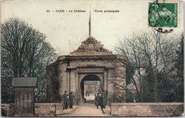 14 CAEN - Le Château, Porte Principale - Caen