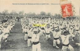 49 Chalonnes Sur Loire, Souvenir Du Concours De Gymnastique Du 2 Juillet 1911 - Other Municipalities