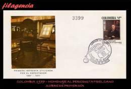 AMERICA. COLOMBIA SPD-FDC. 1977 HOMENAJE AL PERIODISTA FIDEL CANO - Colombie
