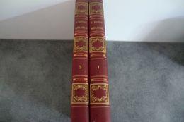 Julie De La Nouvelle Héloïse Par J.- J. Rousseau -  2 Tomes 1845 - Taches De Rousseurs - - Livres, BD, Revues