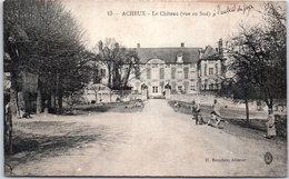 80 ACHEUX - Le Château, Vue Au Sud - Chambourcy
