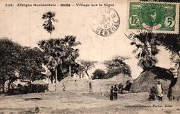AFRIQUE OCCIDENTALE FRANCAISE - SOUDAN - VILLAGE SUR LE NIGER - Mauritanie