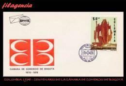 AMERICA. COLOMBIA SPD-FDC. 1978 CENTENARIO DE LA CÁMARA DE COMERCIO DE BOGOTÁ - Colombie