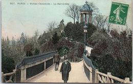 75019 PARIS - Buttes Chaumont, Le Belvédère/ - Arrondissement: 19