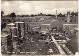 PAESTUM, Veduta Panoramica, Panoramic View, 1972 Used Postcard [23125] - Salerno