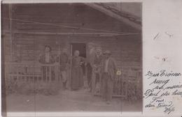 CARTE PHOTO ALLEMANDE - GUERRE 14-18 - ROUMANIE ? - FERME - Guerre 1914-18