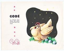 Buvard 21 X 16.4 Les Jouets GEGE   CODE La Poule Qui Pond Des œufs En écartant Les Ailes - Kids