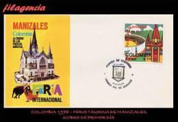 AMERICA. COLOMBIA SPD-FDC. 1978 FERIA TAURINA DE MANIZALES - Colombie